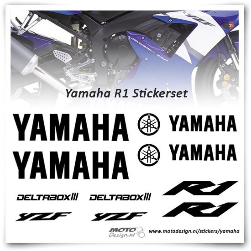 yamaha r1 stickers motor stickers motodesign. Black Bedroom Furniture Sets. Home Design Ideas
