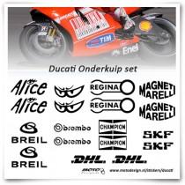 Ducati MotoGP Sponsor Stickerset