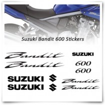 Bandit 600 Stickers