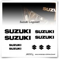 Suzuki Logoset Stickers