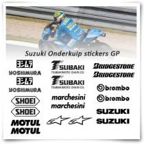 Suzuki MotoGP Stickerset