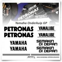 Yamaha Onderkuip GP Stickers