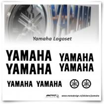 Yamaha Logo Stickers