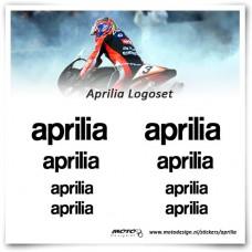 Aprilia Logo Stickerset