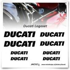 Ducati Logoset Stickers
