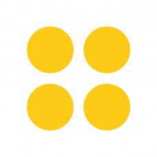 Gele stippen t.b.v. TwinCup