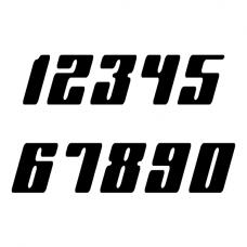 Racenummers: Planet