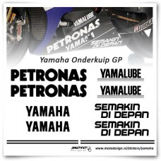 Yamaha Onderkuip GP Stickers