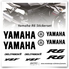 Yamaha R6 Stickers