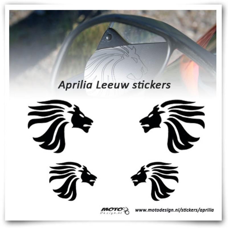 Aprilia Leeuw Sticker Set