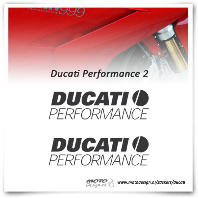 Ducati Performance Stickerset