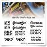 Aprilia MotoGP/SBK Stickerset
