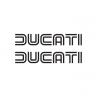 Ducati Logo Oude Stijl